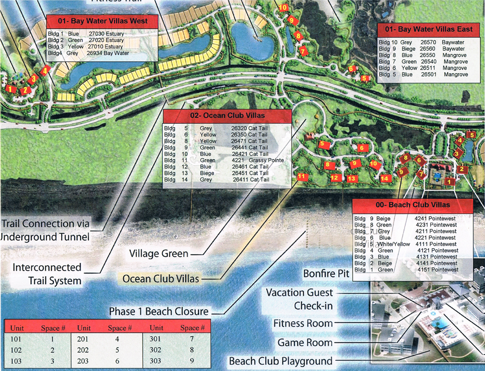 Pointe West Site Map